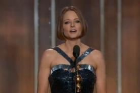 Globos de Oro: Jodie Foster aceptó su homosexualidad con emotivo discurso