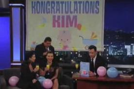 Video: Kim Kardashian sorprendida con baby shower en programa de TV