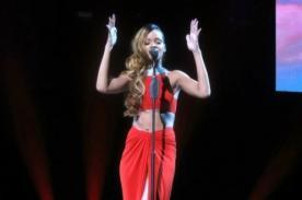 Rihanna deslumbra en presentación en Filadelfia