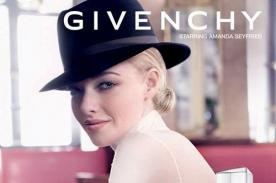 Amanda Seyfried en primeras imágenes para Givenchy