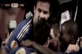 Vídeo: Goles del Chelsea vs. Benjica (2-1) - Europa League