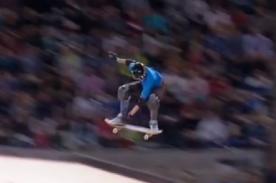 Video: Skater de 16 años hace increíble pirueta en competencia