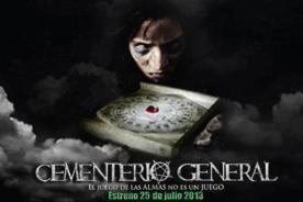 Cementerio General: Estreno de la primera película de terror peruana