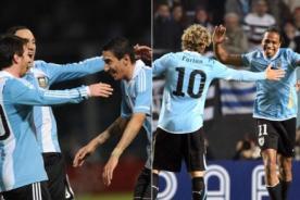 CMD en vivo: Uruguay vs Argentina (3-2) Minuto a minuto – Eliminatorias Brasil 2014