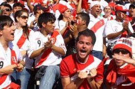 El conmovedor video del hincha peruano pese al fracaso de la selección