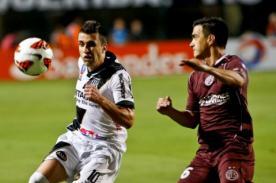 Resultado del partido: Lanús vs Ponte Preta (2-0) Final Copa Sudamericana 2013