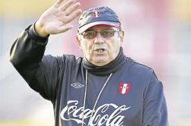 FPF: Sergio Markarián se niega a seguir con la selección peruana