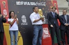 Ollanta Humala es criticado por recibimiento de la Copa del Mundo