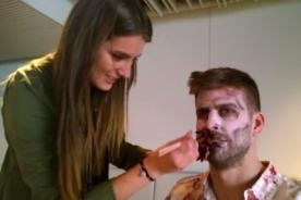 Gerard Piqué reveló ser fan de The Walking Dead y fue zombie por un día - VIDEO