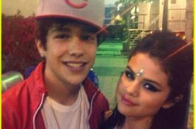Selena Gomez olvida a Justin Bieber con Austin Mahone