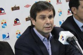 Sporting Cristal: Felipe Cantuarias renunció a la presidencia del club celeste