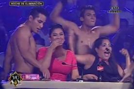 Yo soy: Maricarmen Marín y Katia Palma se alborotan con bailarines - Video