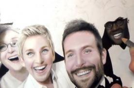 Popular 'selfie' de los Oscar reproducido en un asombroso dibujo - VIDEO