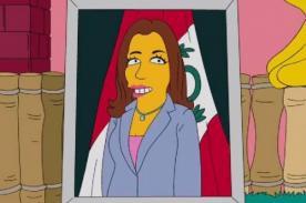 Marisol Espinoza: Vicenpresidenta aparece en capítulo de Los Simpsons - Video