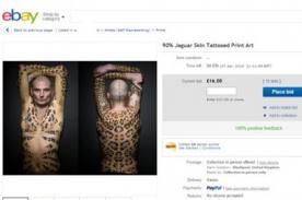 Increíble: Hombre vende su propia piel en eBay - FOTOS