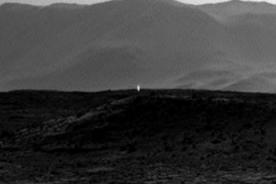 NASA capta luz artificial en la superficie del planeta Marte - Video