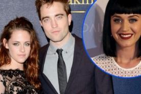 Kristen Stewart está celosa por amistad entre Katy Perry y Robert Pattinson