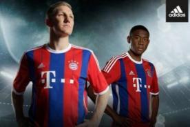 Bayern Múnich presentó camiseta azulgrana para la temporada 2014-15 - FOTOS