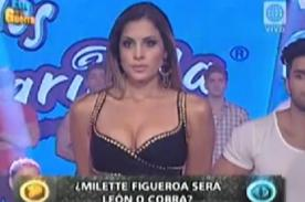 Esto es Guerra: Milett Figueroa arma berrinche ante tribunal - Video