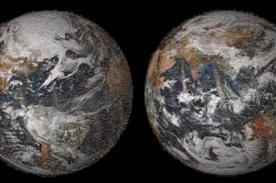 NASA presenta impresionante mosaico de la Tierra con 36 mil selfies