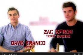 ¡Bruno Pinasco comparte exclusiva entrevista con Zac Efron! [Video]