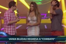 Combate: Vania Bludau vuelve al programa entre lágrimas [VIDEO]
