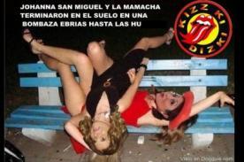 Johanna San Miguel es víctima de terribles memes por juergaza [FOTOS]