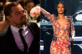 ¿Rihanna llamó a Leonardo DiCaprio por Mejor Actor?