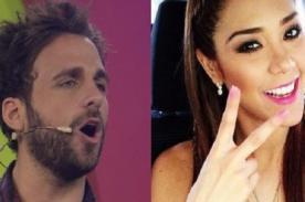Peluchín: ¡Adolfo Aguilar sale en defensa de Karen Schwarz y le dice de todo al conductor!