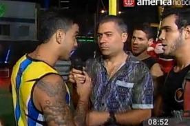 EEG: ¿Diego Chávarri se pasó de faltoso con ex integrantes de Combate?