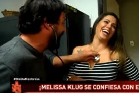 ¿Loco Wagner le juega broma pesada a Melissa Klug por zona íntima? - VIDEO