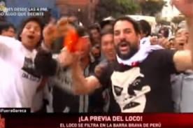 'Loco' Wagner armó tremenda fiesta en el Perú vs Argentina - VIDEO