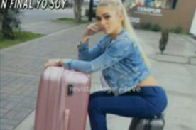 ¿Julieta Rodríguez ya hizo sus maletas y viajó de regreso a Argentina? - FOTO
