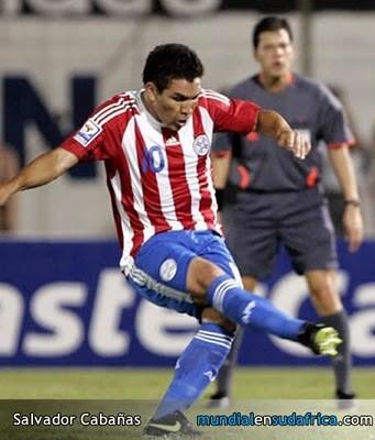 Salvador Cabañas estará en el Mundial de Sudáfrica 2010
