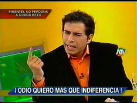 Ernesto Pimentel apoya a Jaime Bayly con candidatura