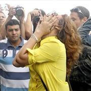 Rihanna visitó con devoción la estatua de Cristo Redentor en Brasil