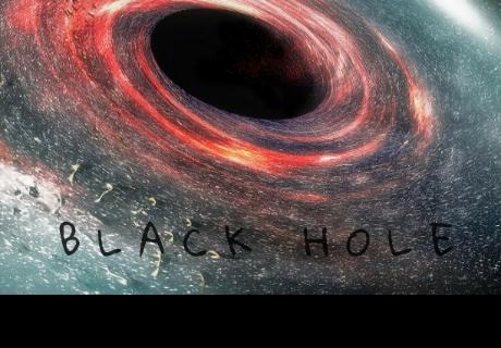 Descubren un agujero negro que hace girar el espacio-tiempo