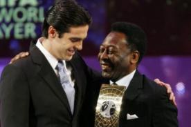 Real Madrid: Kaká soñaba con jugar al lado de Pelé
