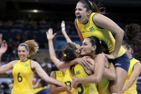 Olimpiadas 2012: Brasil va por el oro frente a EE.UU en voleibol femenino