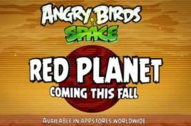 Angry Birds comandará la nave Curiosity de la NASA en Marte (Video)