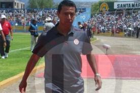 Universitario: Solano todavía confía en clasificar a la Sudamericana