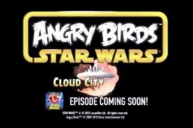 Se filtró adelanto de Angry Birds Star Wars: Cloud City – Video