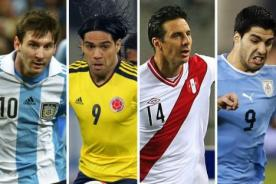 Eliminatorias Brasil 2014: Programación para la fecha 14