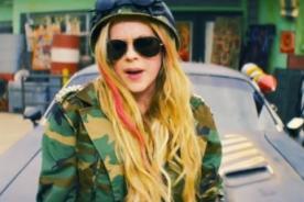 Avril Lavigne estrena su esperado 'Rock N Roll' - Video