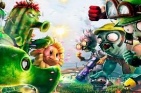 Plantas vs Zombies: Garden Warfare - Presentan nuevos tráilers del juego - Video