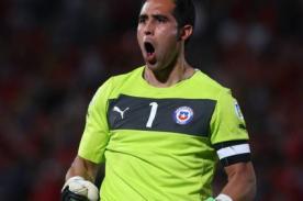 Arquero de Chile: Ante Venezuela nos jugamos la clasificación al Mundial
