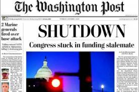 Estados Unidos: Cierre de gobierno y reacciones de diarios más importantes