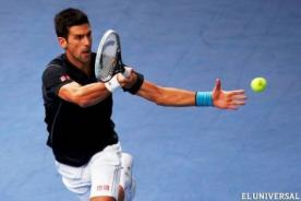 Masters de Londres: Novak Djokovic derrotó a Stanislas Wawrinka