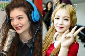 Lorde se confiesa fan del K-Pop y espera colaborar con Lee Hi