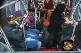 Seattle: Pasajeros de metro se unen para neutralziar a ladrón armado - VIDEO